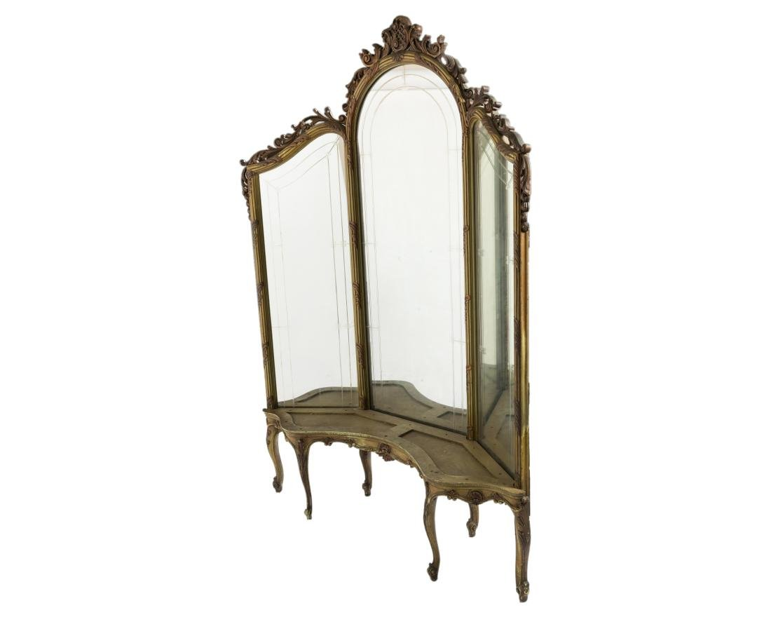 French Three Section Dressing Mirror