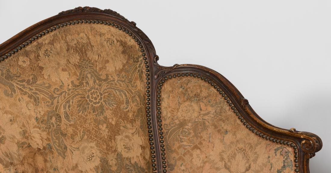 Pair French Style Victorian Loveseats - 3