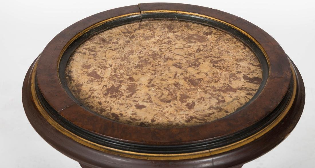 Victorian Marble Top Pedestal - 2