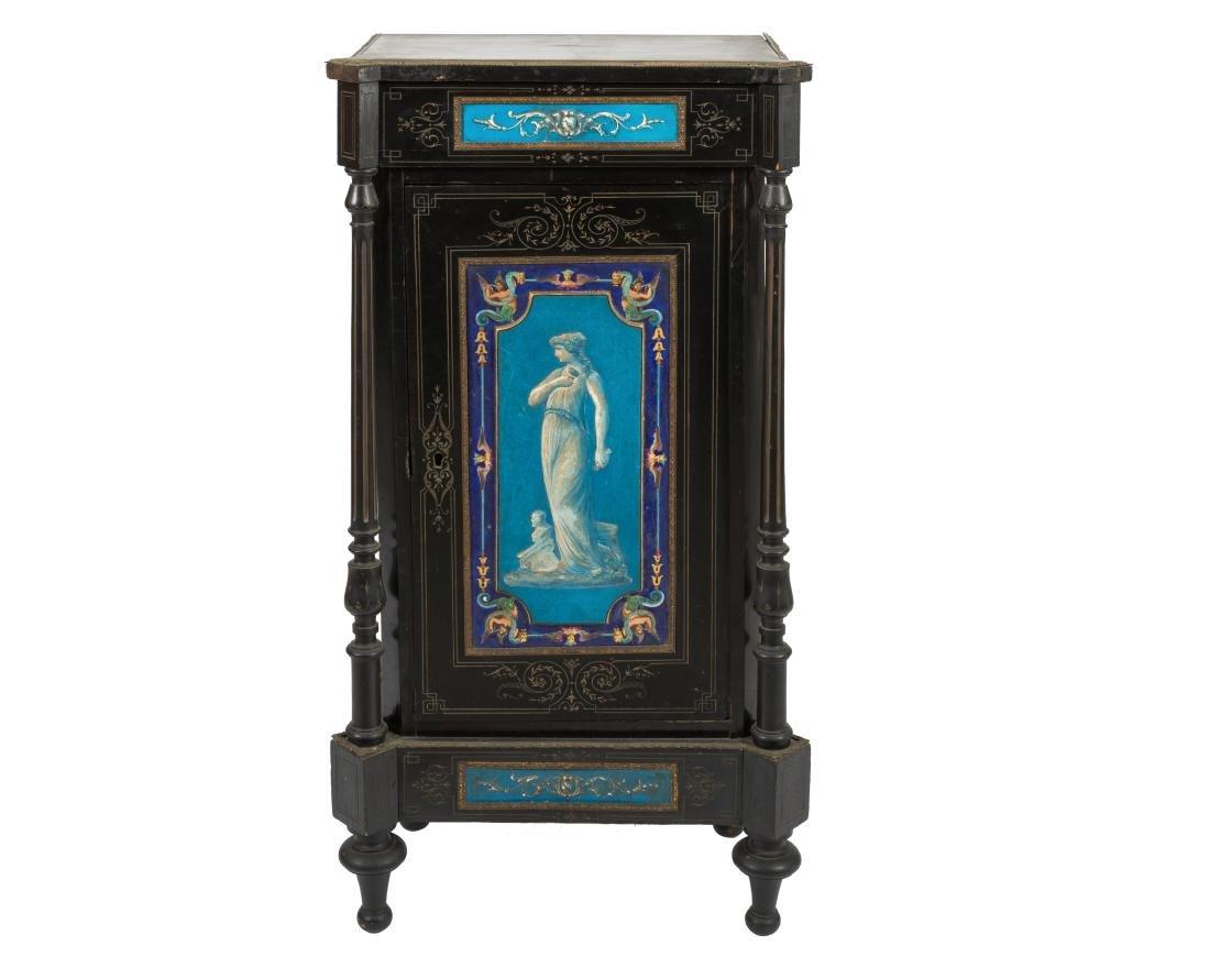 Victorian Music Cabinet with Bronze Ormolu
