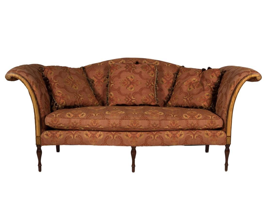 Southwood Sheraton Style Sofa - Signed