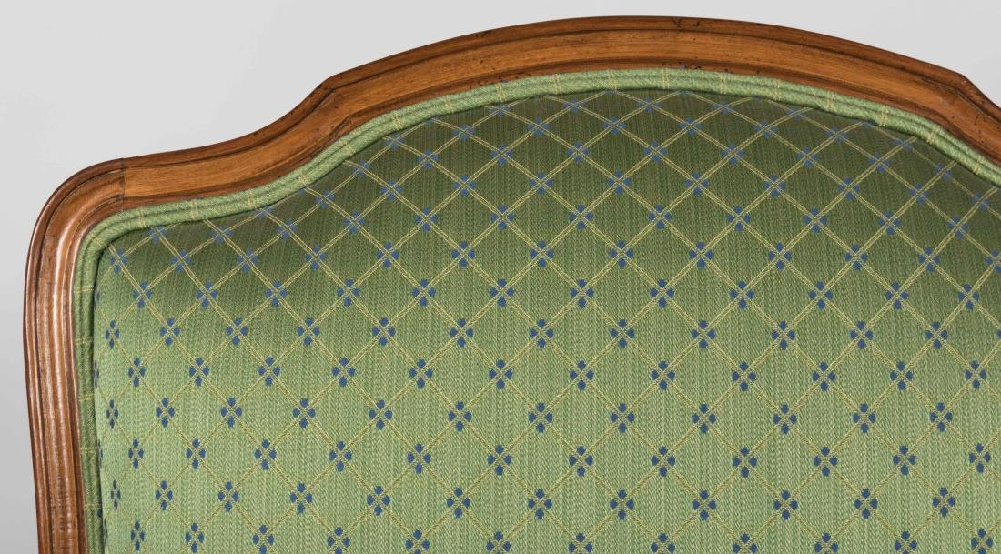 Pair French Style Arm Chairs - 3