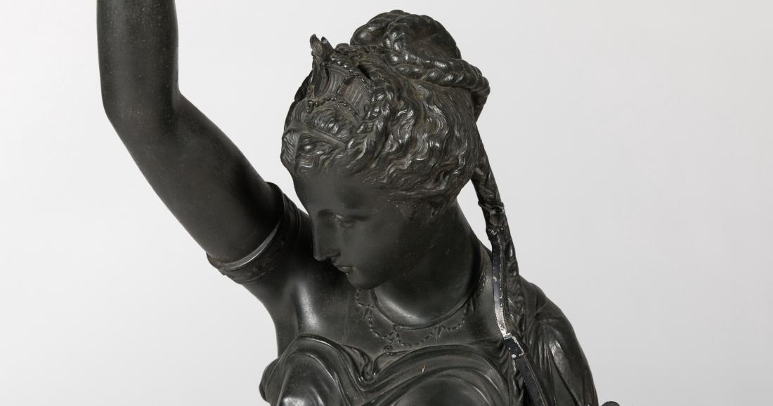 Large Spelter Figure - 3