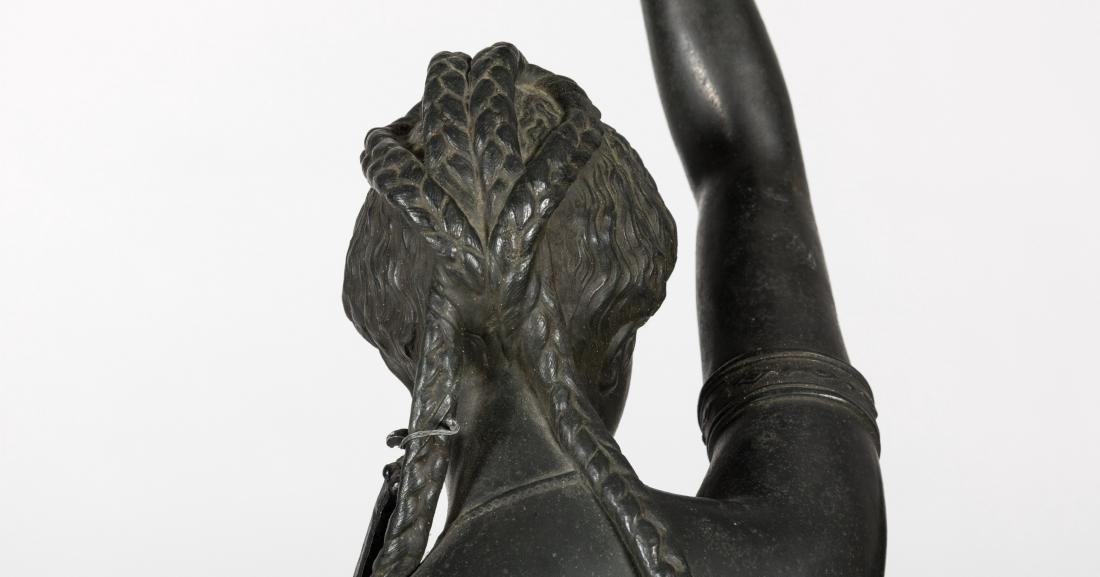 Large Spelter Figure - 4