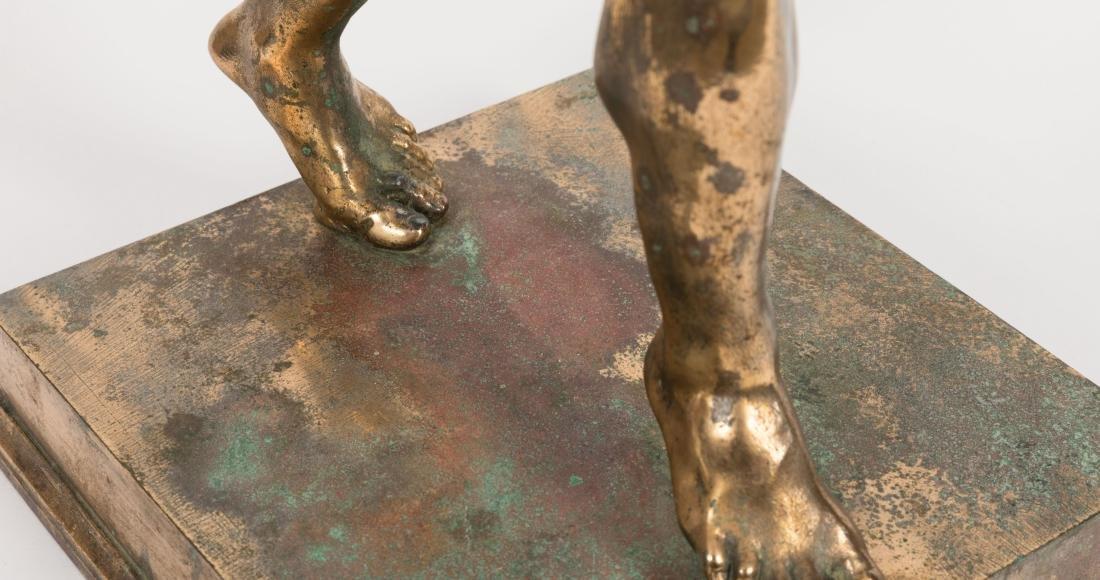 Bronze Pan Figure - 3