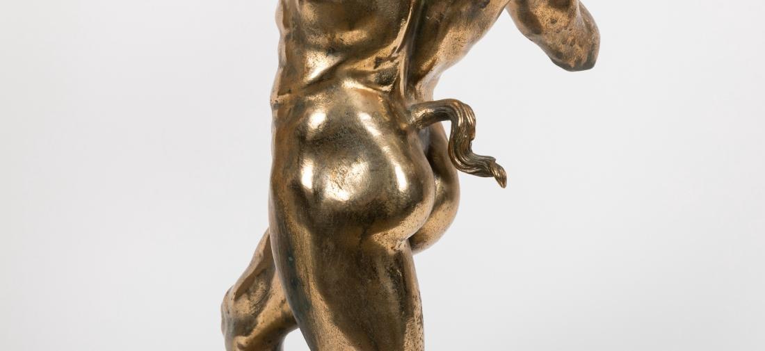 Bronze Pan Figure - 4