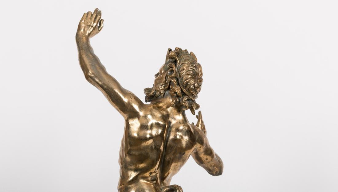 Bronze Pan Figure - 5