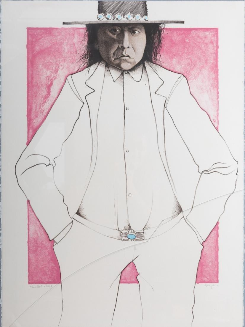 """Ed Singer - """"Who is R. C. Gorman"""" - Printers Proof - 2"""