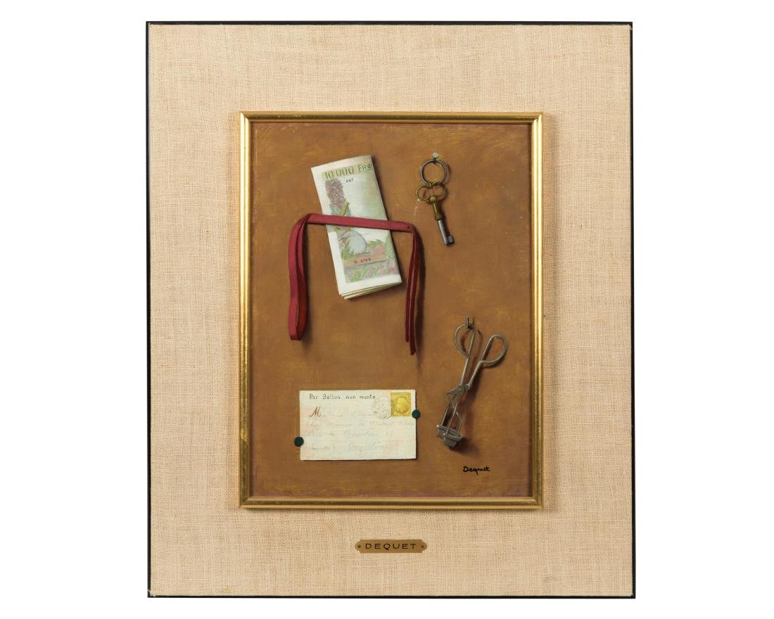 Alain Dequet - Oil on Board - Still Life