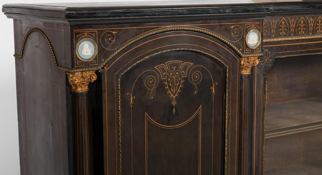 Inlaid Victorian Sideboard - 2