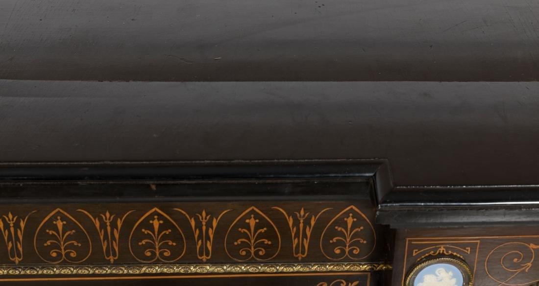 Inlaid Victorian Sideboard - 5