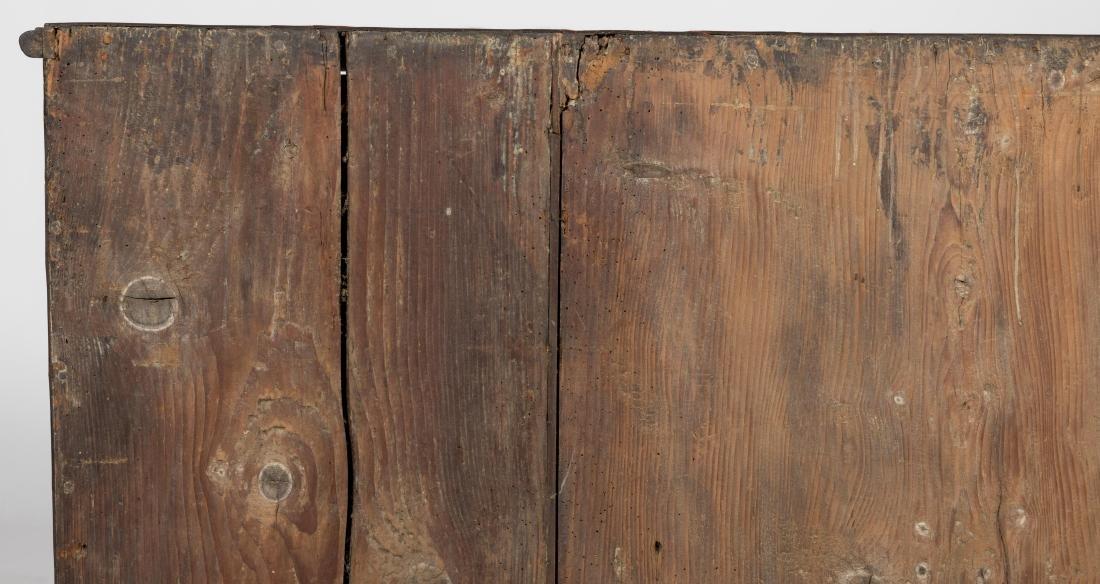 Antique Rosewood Serpentine Chest - 5