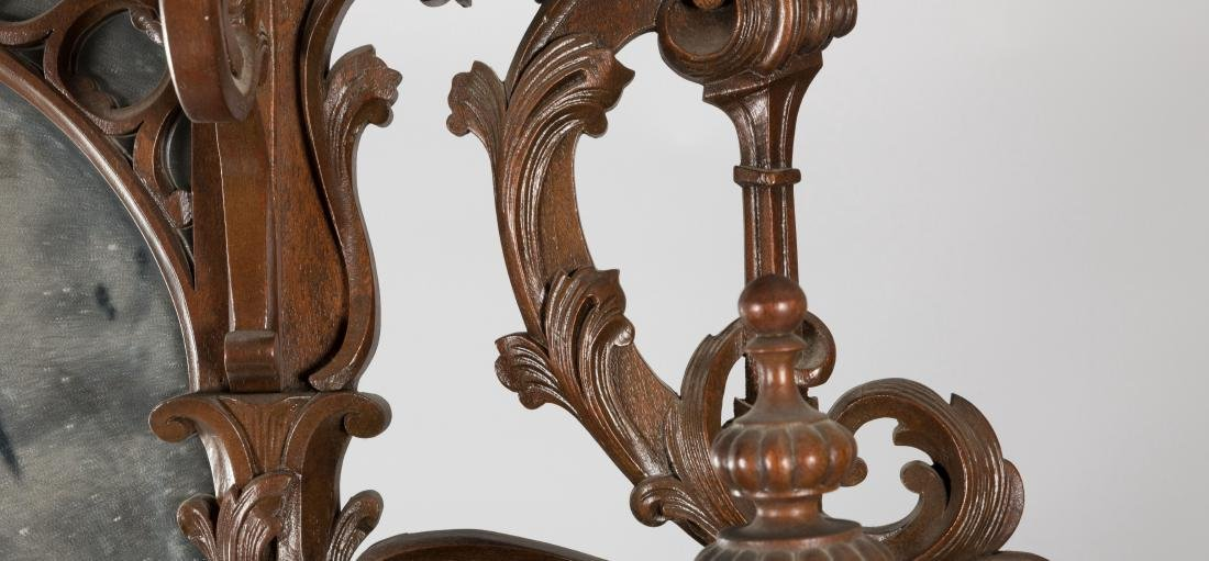 Two Part Victorian Marble Top Etagere - 8