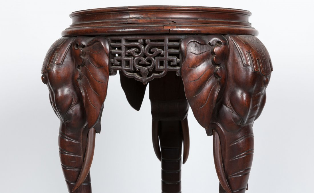 Aesthetic Walnut Victorian Marble Top Pedestal - 2