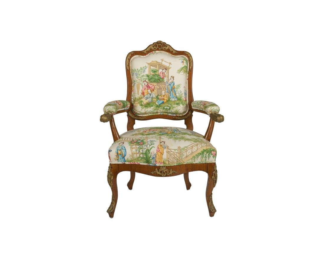 Louis XV Fauteuil - Attributed to Francois Linke