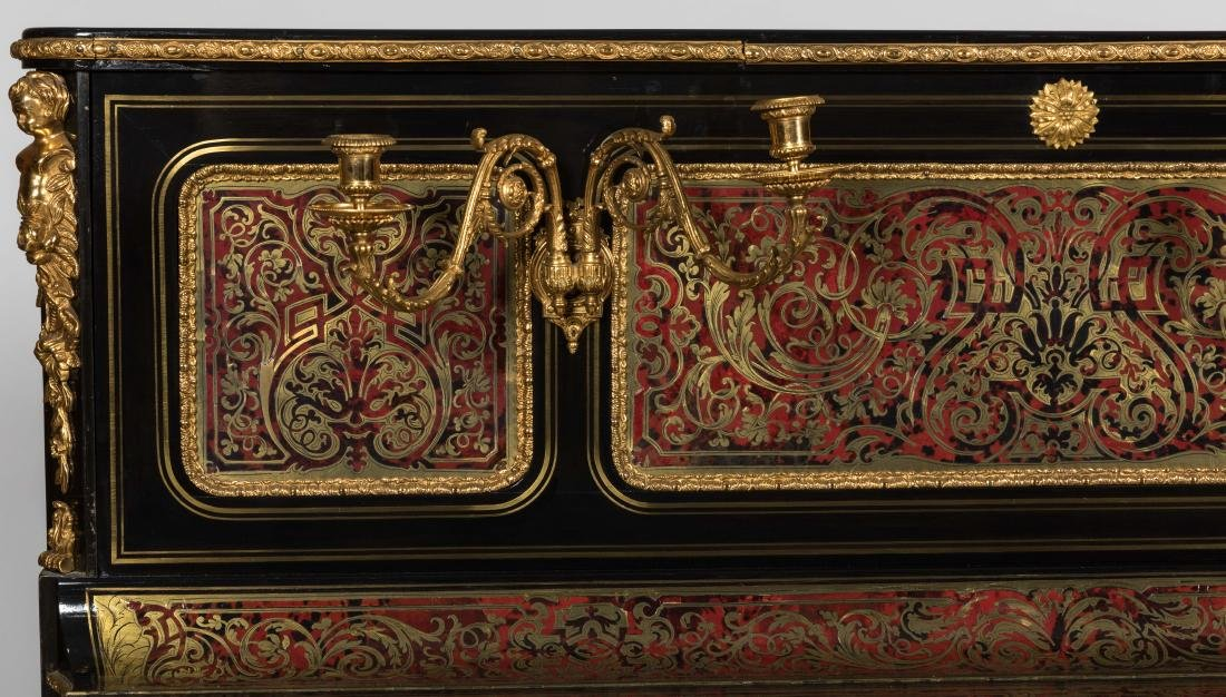 Van Overbergh Exceptional Boulle Piano - 2