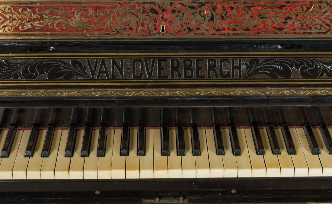 Van Overbergh Exceptional Boulle Piano - 5
