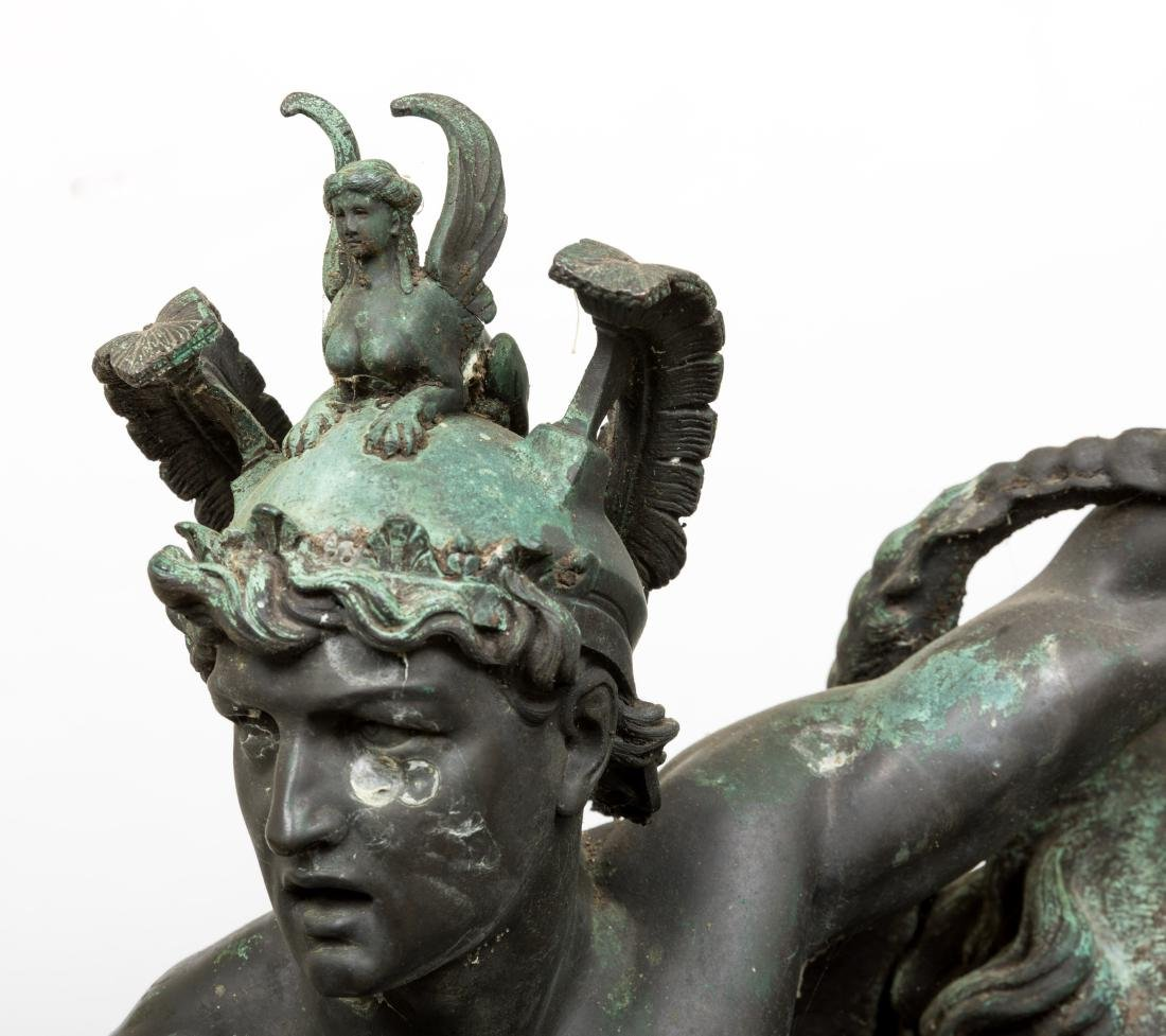Large Bellerophon Bronze - Signed - 7