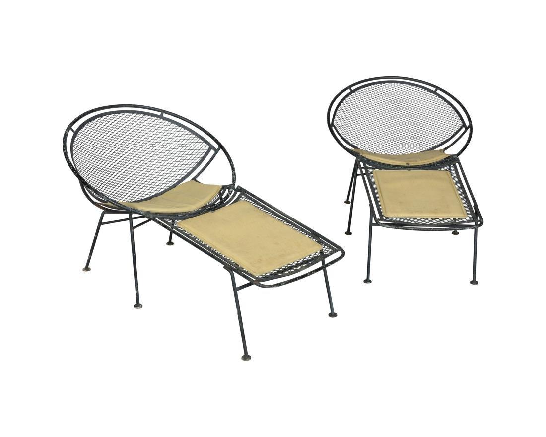 Maurizio Tempestini Salterini Chairs with Lounge