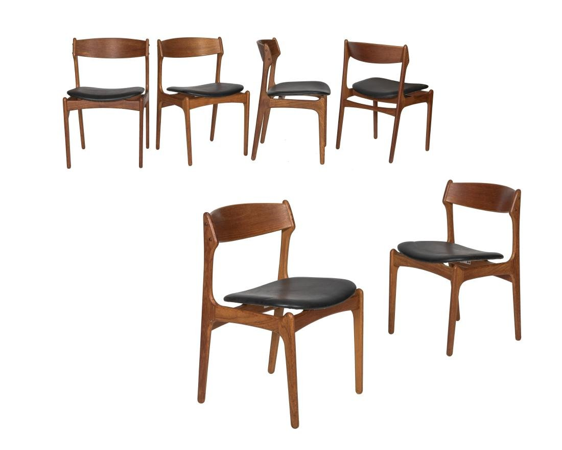Erik Buch Dining Chairs - Signed - Set of Six