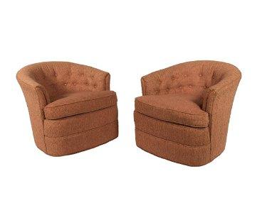 Magnificent Huffman Koos Pair Swivel Tub Chairs Camellatalisay Diy Chair Ideas Camellatalisaycom