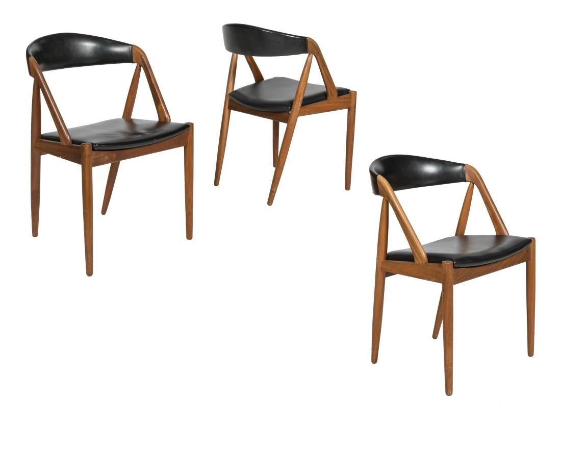 Kai Kristiansen Model 31 Chairs - Set of Three
