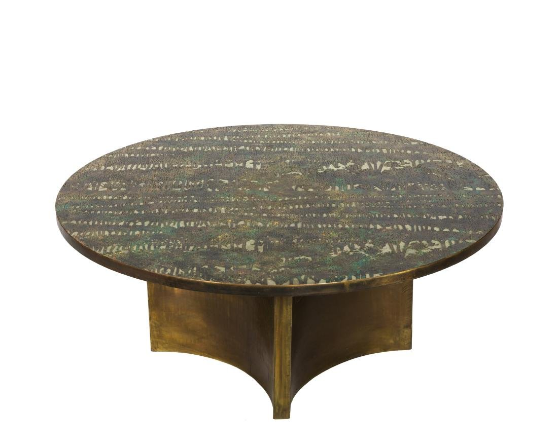 Philip and Kelvin Laverne Coffee Table - Signed