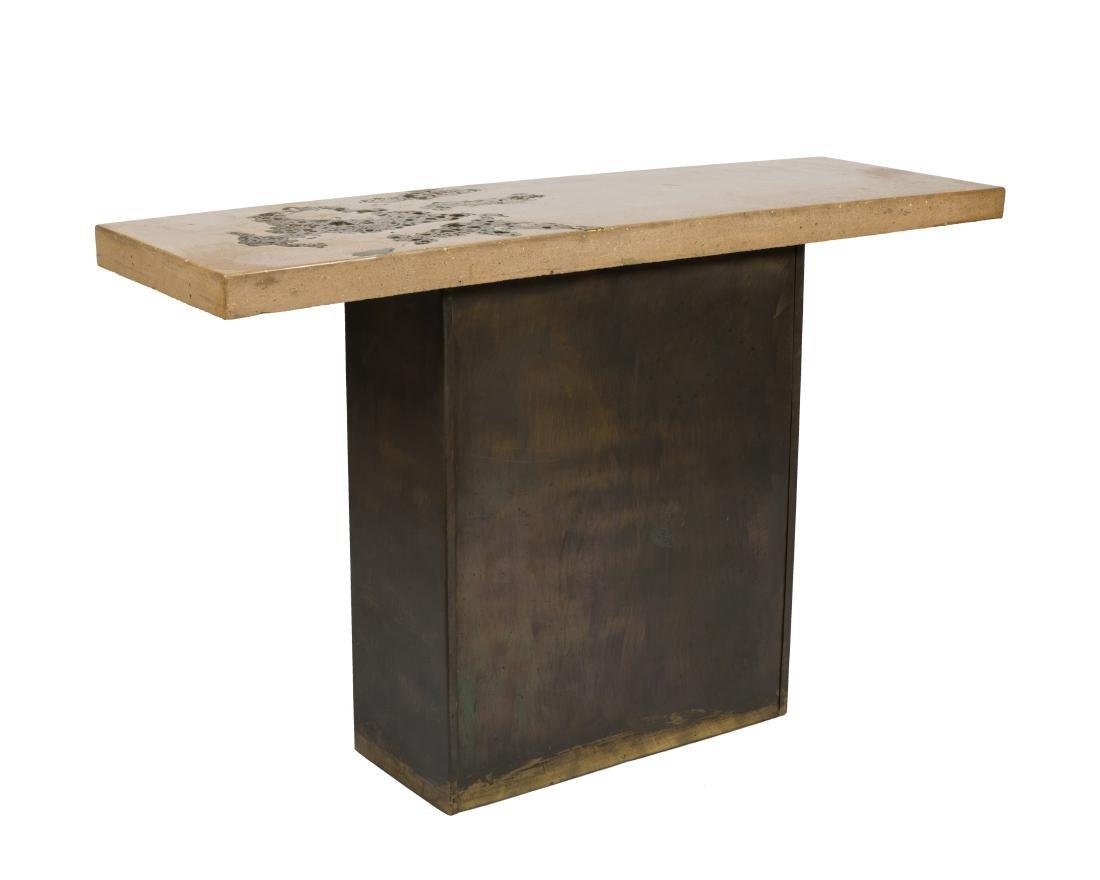 Silas Seandel Stone Console Table