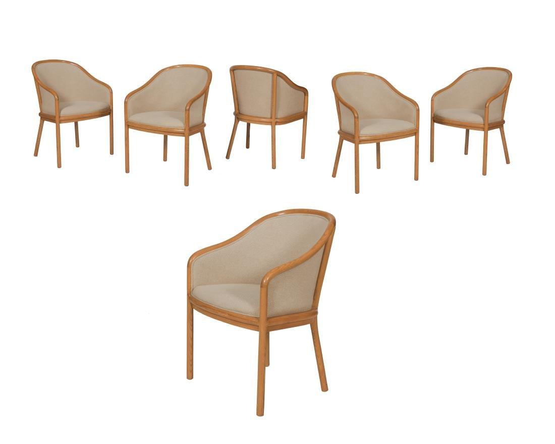 Ward Bennett Dining Chairs - Set of Six