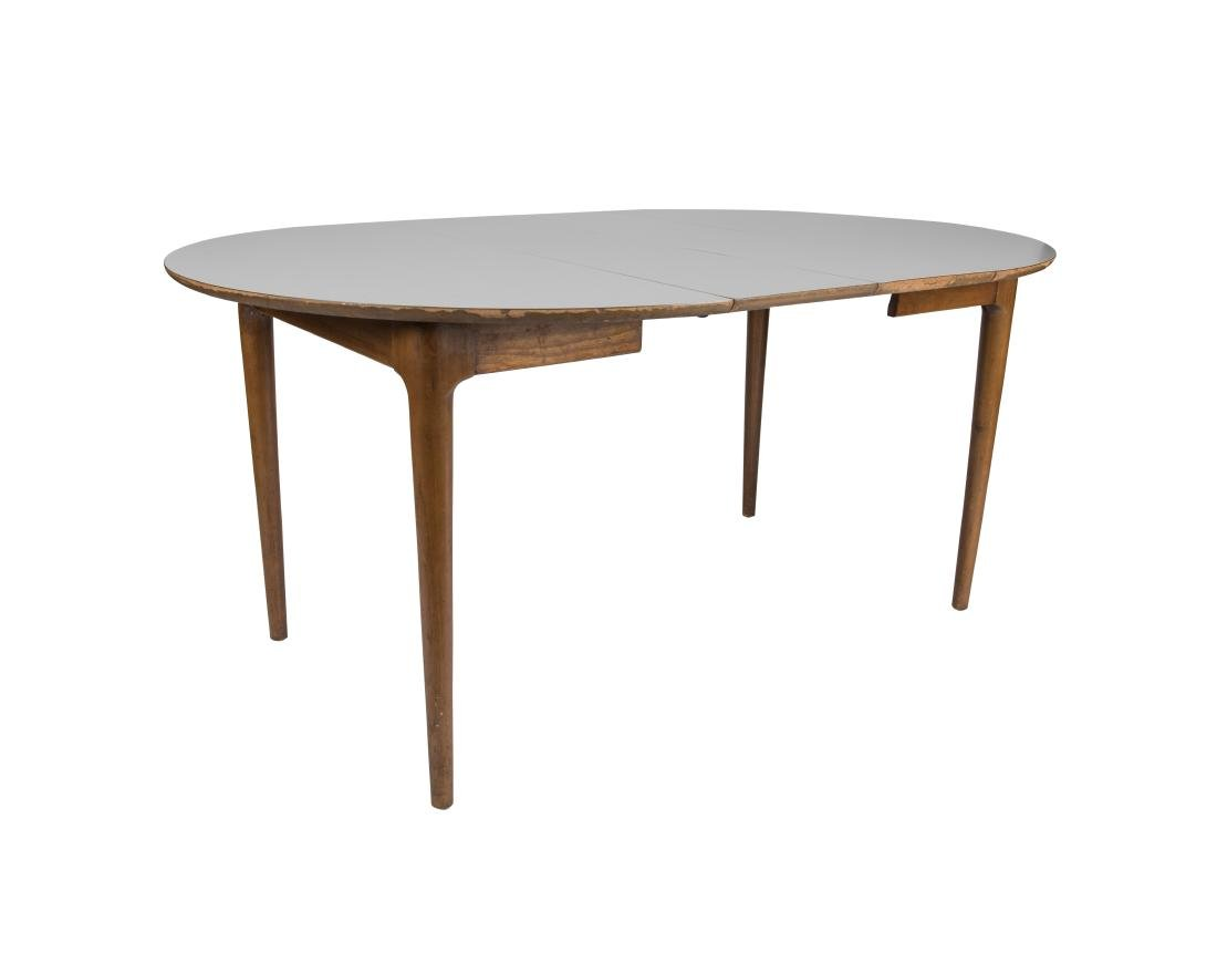 Walnut Formica Top Kitchen Table - 3
