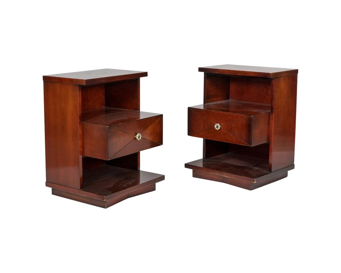 """Kent Coffey """"The Tempo"""" Nightstands - Pair"""
