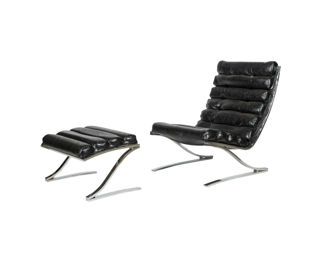 DIA  Lounge Chair and Ottoman