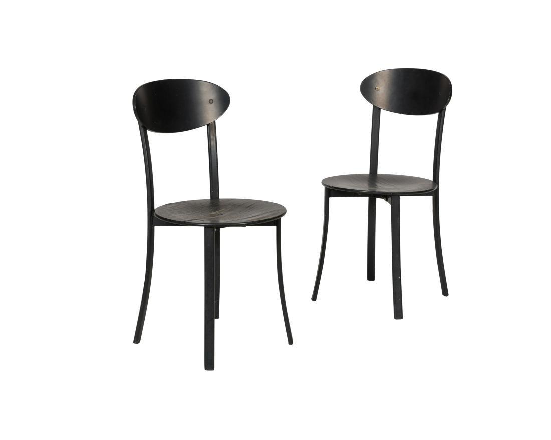 Fritz Hansen (Attr.) Side Chairs - Pair