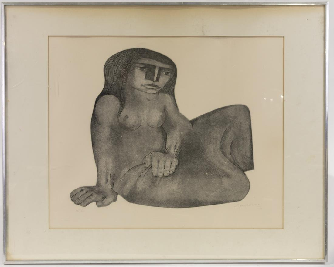 Nude Lithograph - Signed, Dated and Numbered