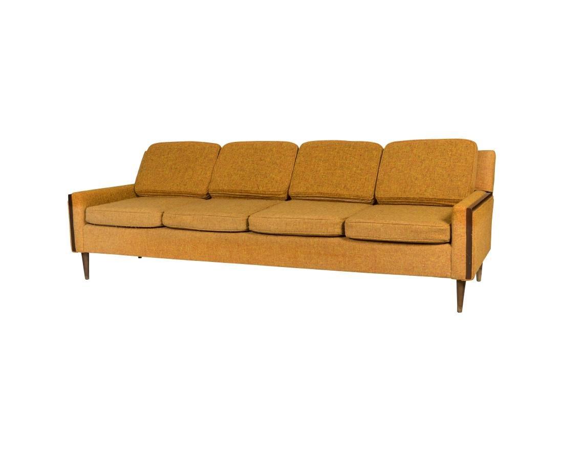 Danish Style Tweed Sofa