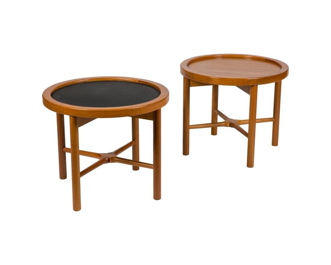 Hans Wegner Style Reversible Tables