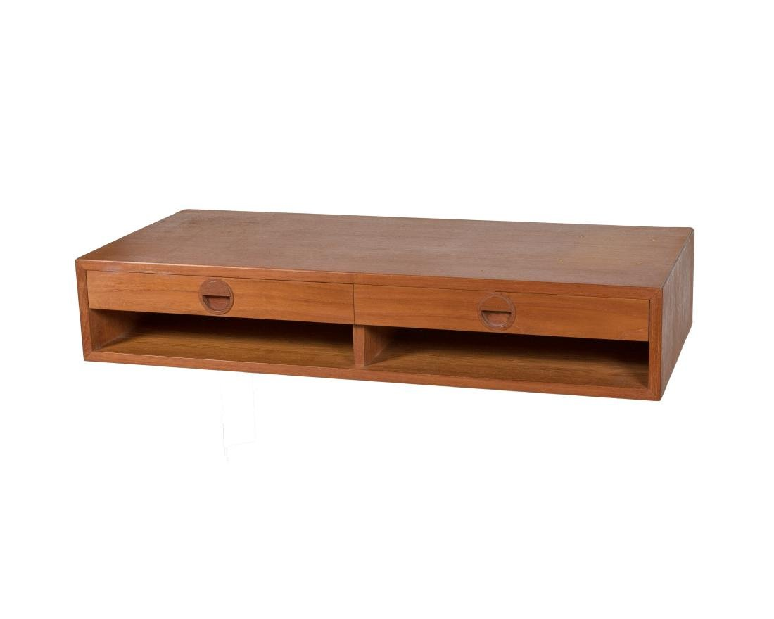 H.G Furniture Denmark Teak Floating Desk
