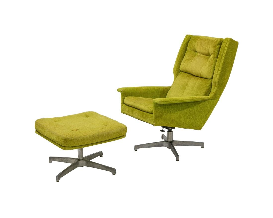 Jack Cartwright for Founders Lounge and Ottoman