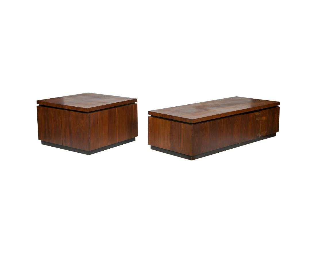 Probber Style Walnut End and Coffee Table
