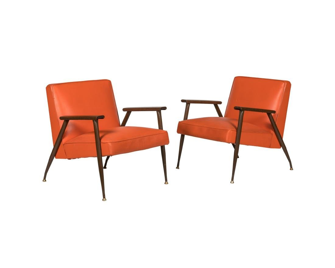 Viko Baumritter Lounge Chairs - Pair