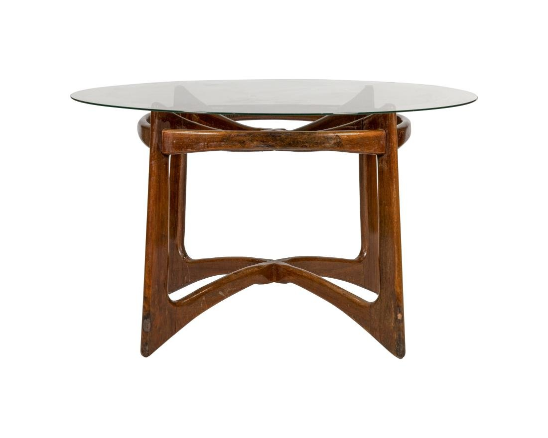 Adrian Pearsall Walnut Kitchen Table