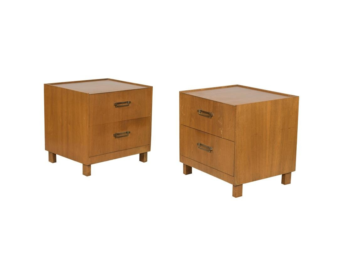 Baker Nightstands - Signed - Pair