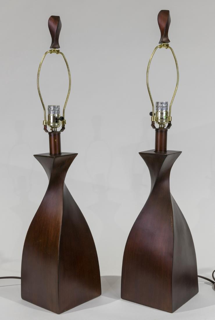 Pair Danish Style Lamps