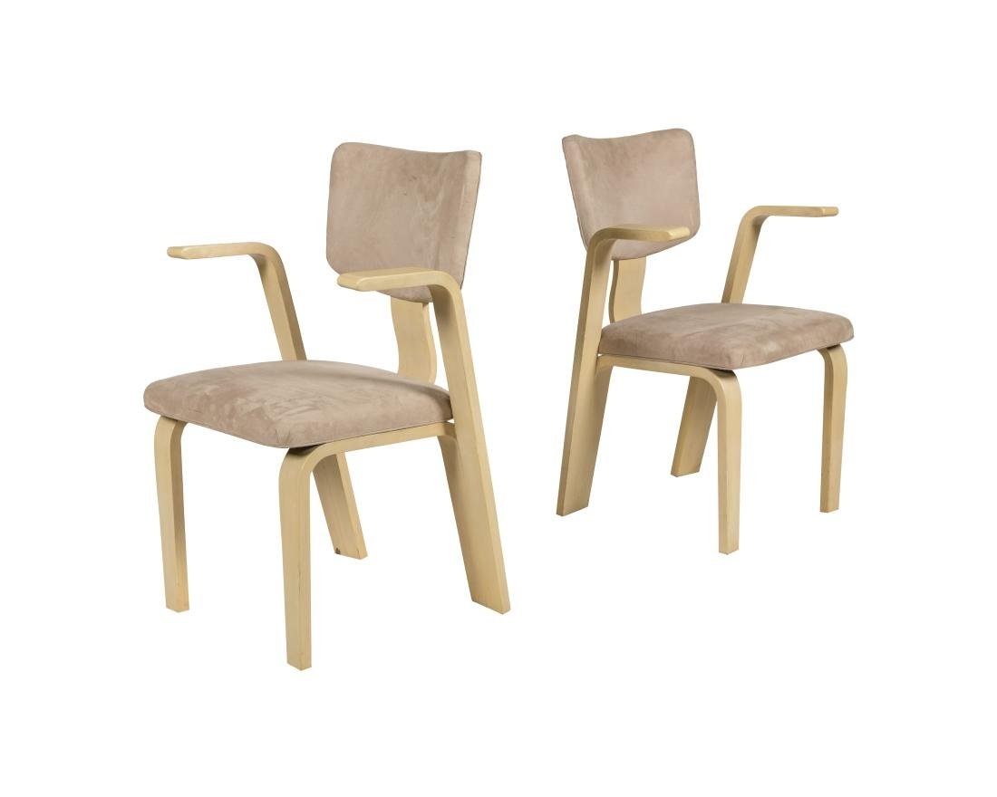 Thonet Style Bentwood Arm Chair - Pair