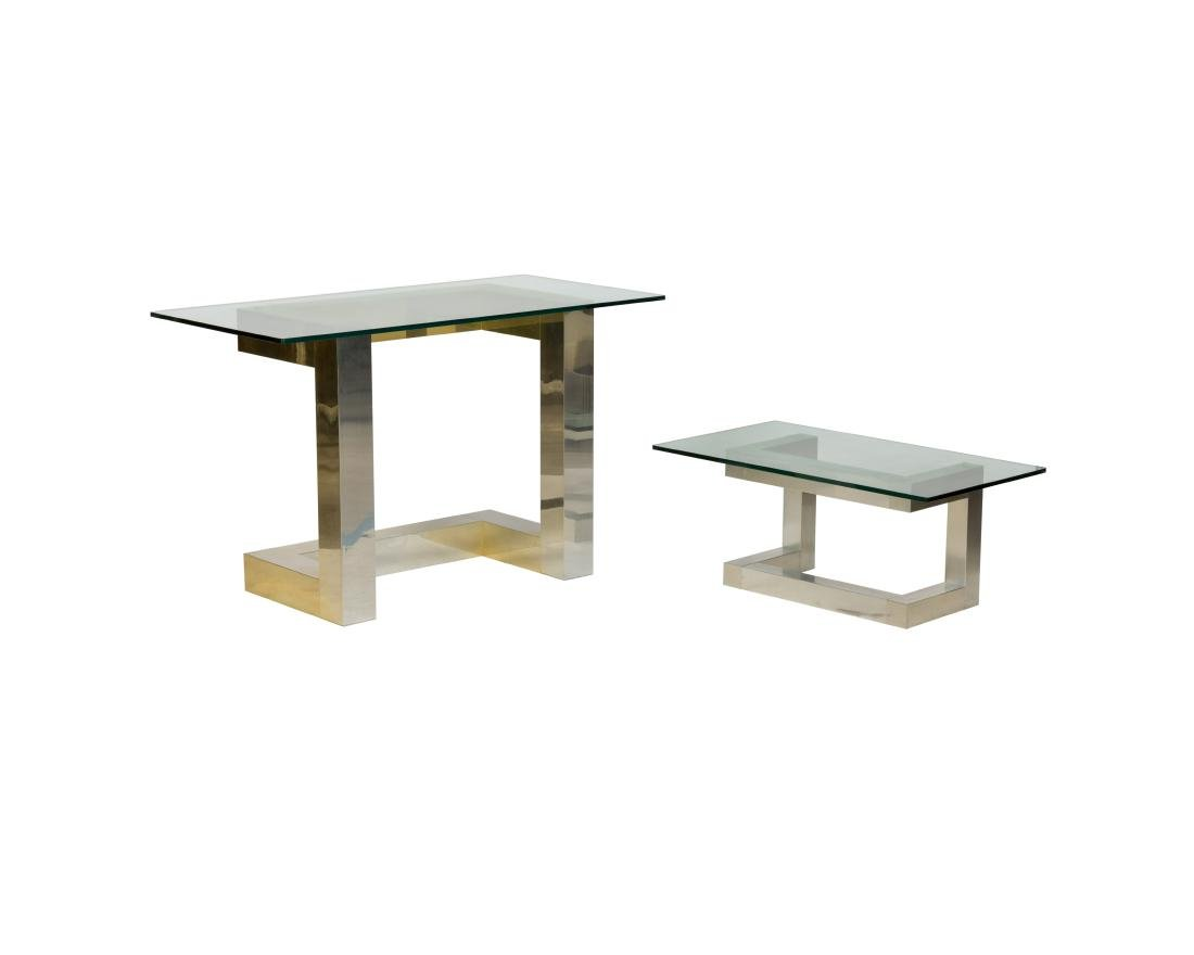 Paul Evans Style Coffee Table and Console