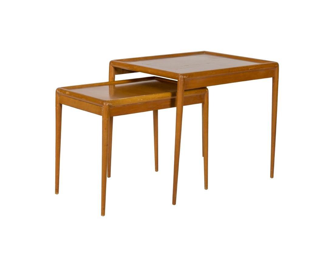 T.H Robsjohn-Gibbings Nest of Two Tables