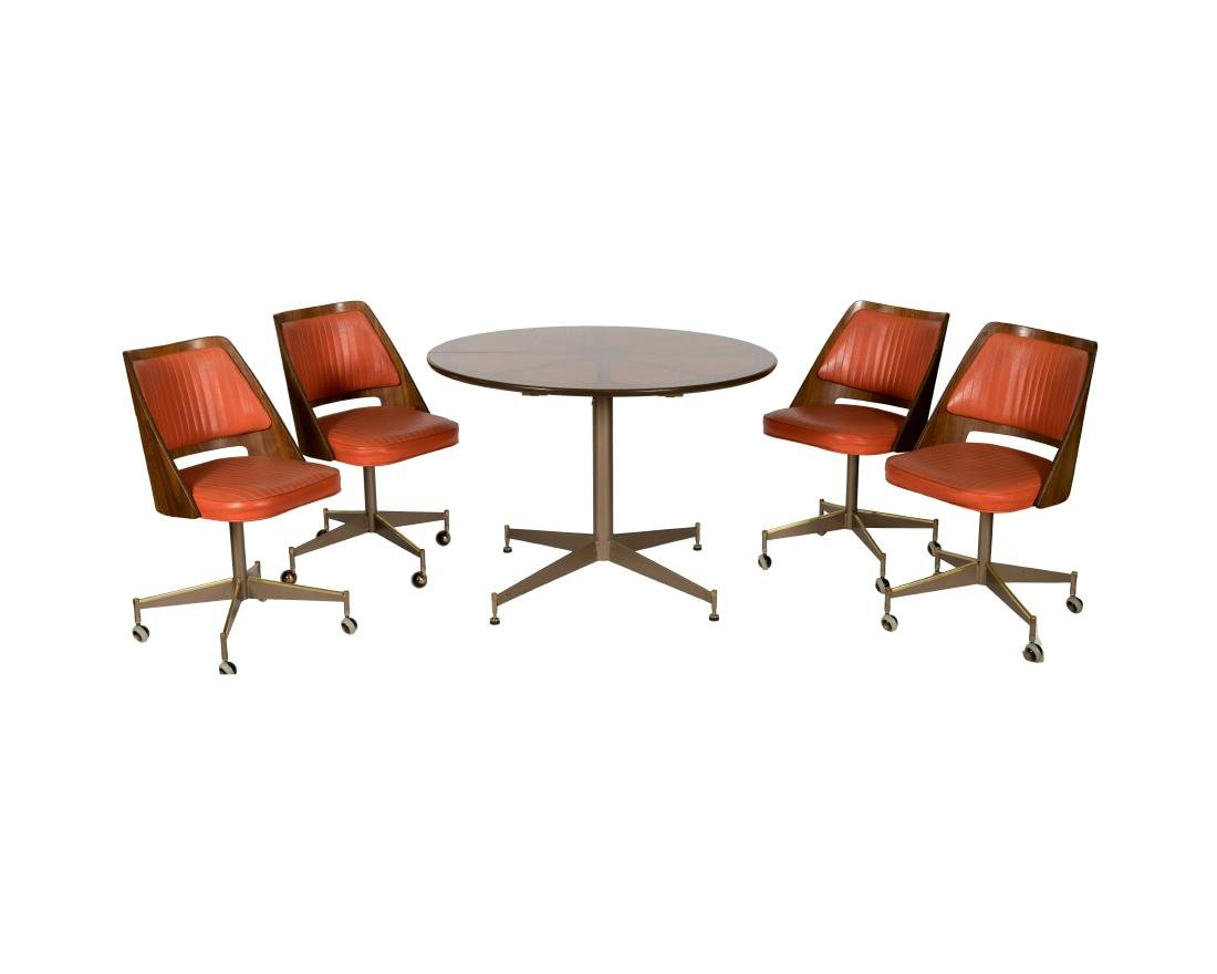 B. Browdy Dinette Set with Four Chairs