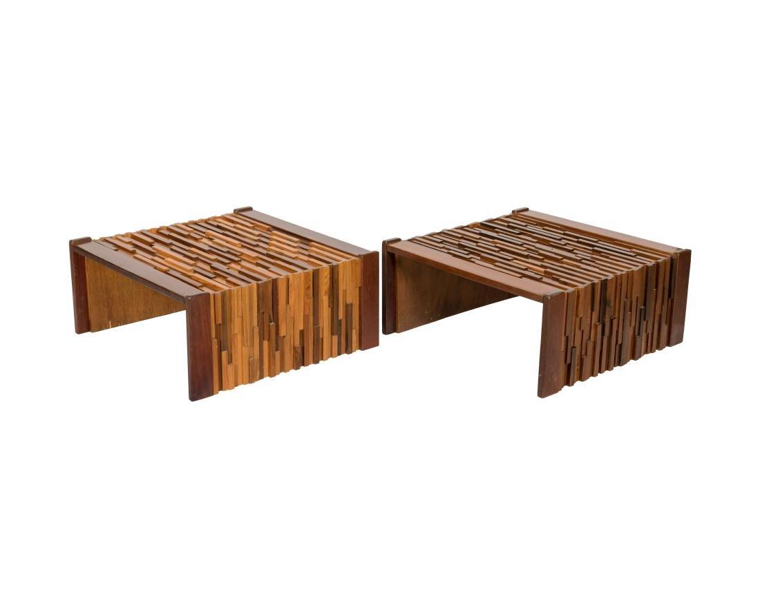 Percival Lafer End Tables - Pair