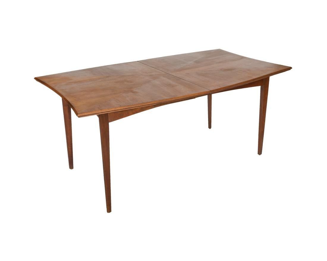 Walnut Concave Dining Table