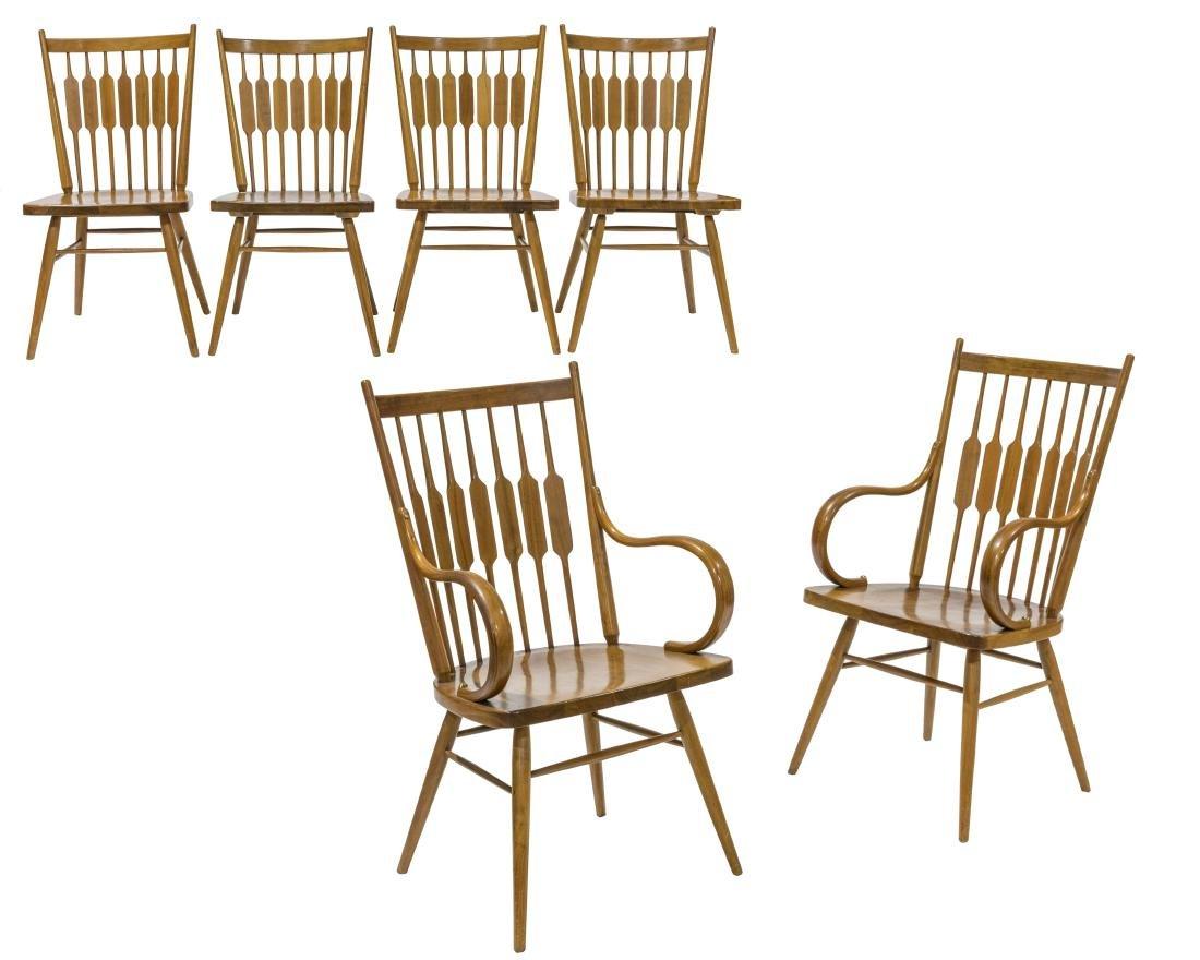 Kipp Stewart Drexel Dining Chairs - Set of Six